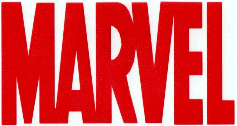 Marvel logo clipart clipart black and white Dimension Decals - Marvel clipart black and white