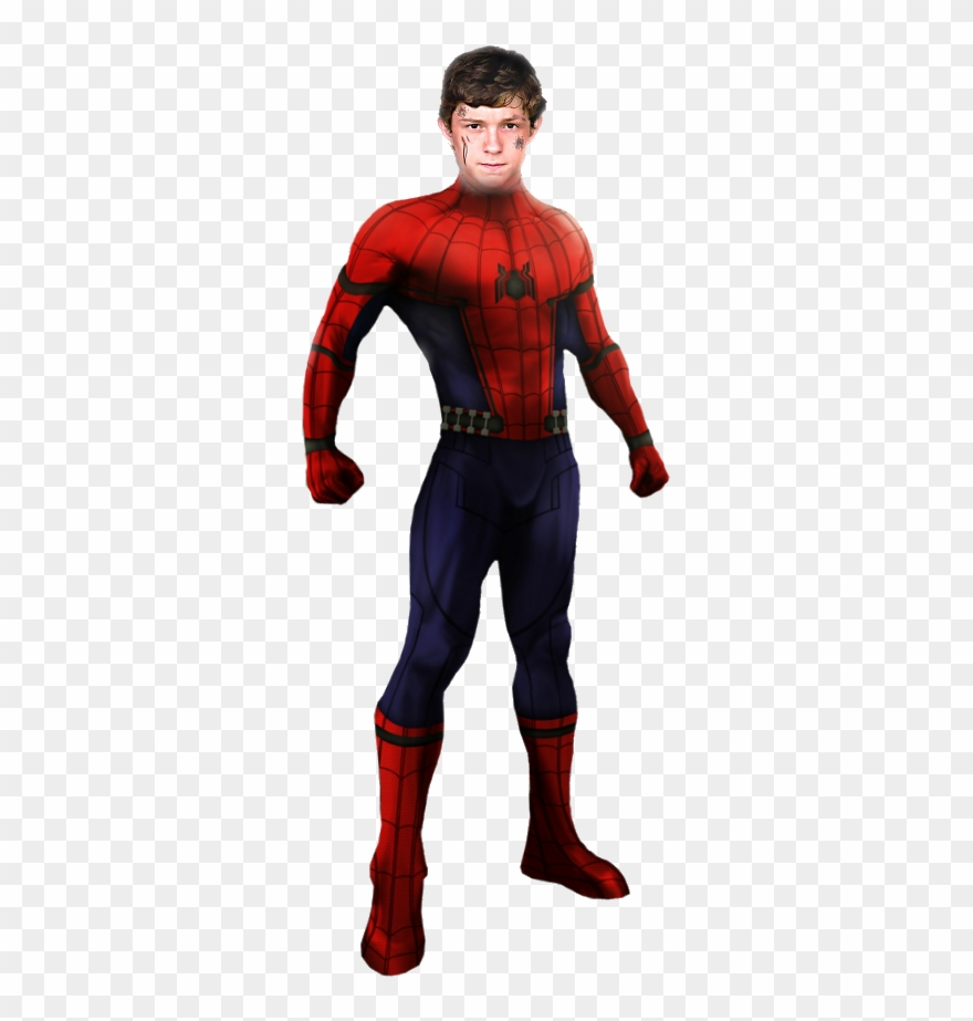 Marvel spider man movie cliparts banner transparent Spiderman Standing Png Clip Art Black And White Stock - Marvel\'s ... banner transparent