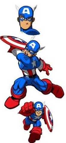 Marvel super hero clipart library Marvel Super Hero Squad Captain America Clipart   Boys bedroom ... library