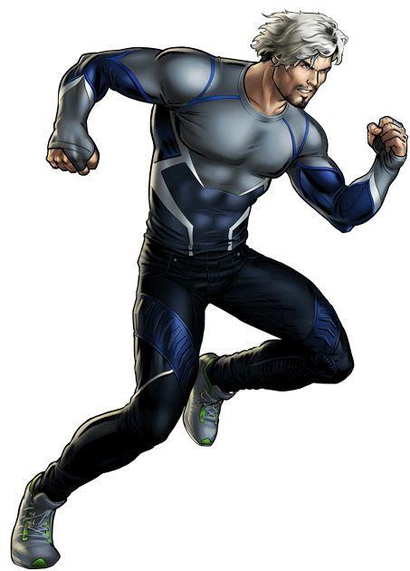 Marvel super hero clipart clipart freeuse download Pietro #Maximoff #Quicksilver #Clip #Art. (THE * 5 * STÅR * ÅWARD ... clipart freeuse download