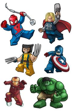 Marvel superhero clipart png library Marvel Super Hero Squad Wolverine | Tate's party | Pinterest ... png library