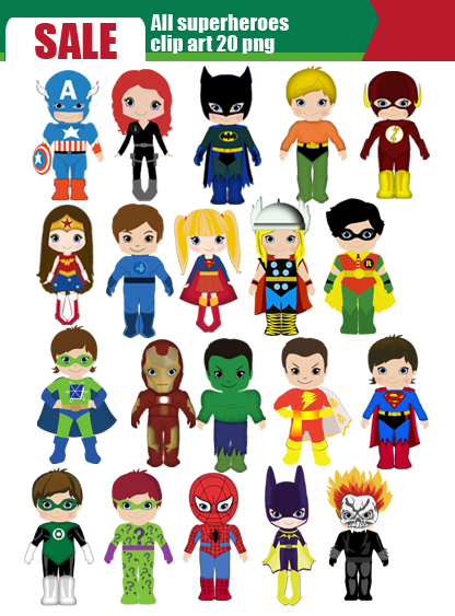 Marvel superhero clipart nice graphic library Marvels super hero clipart - ClipartFox graphic library