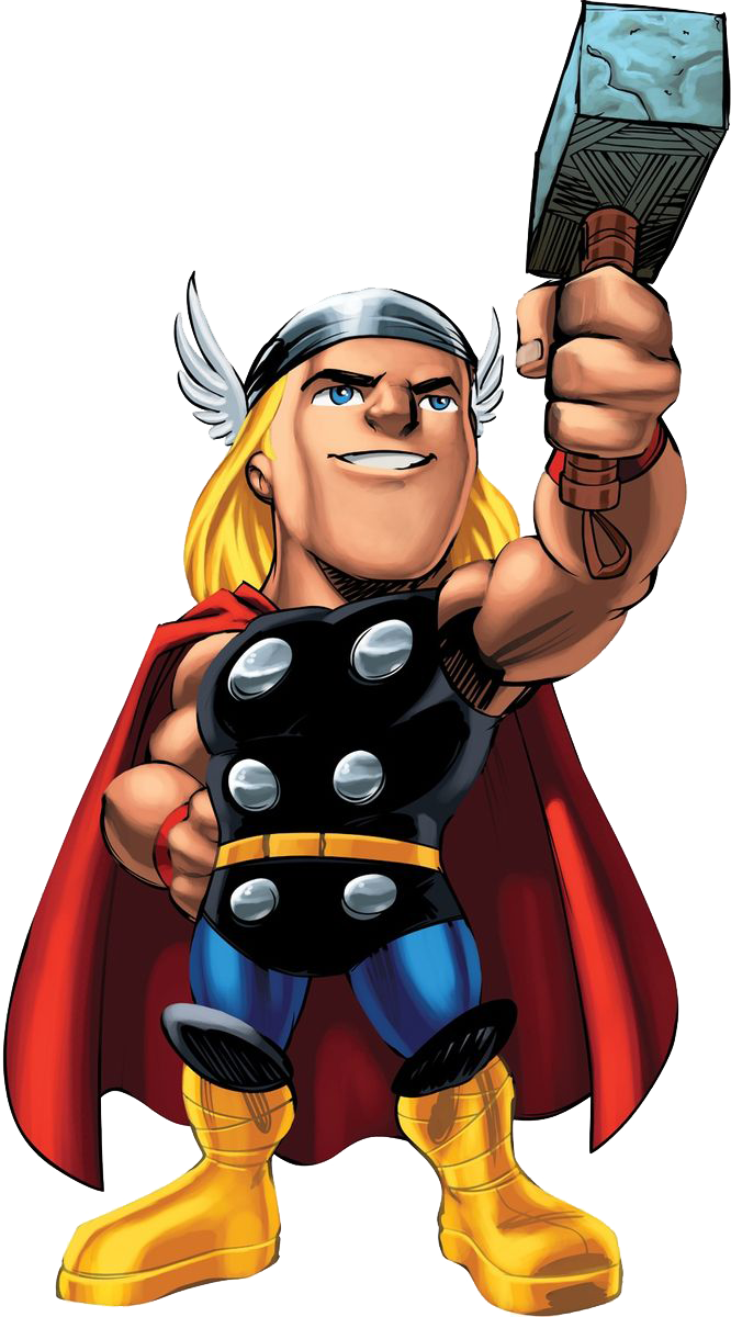 Marvel superhero clipart png clipart free Marvel super hero squad thor clipart png - Clipartix clipart free