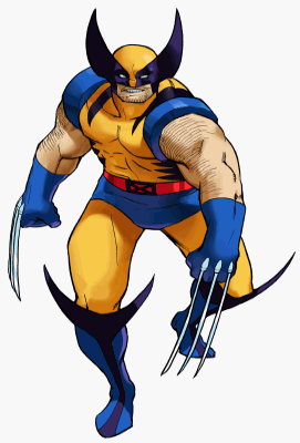 Marvel wolverine clipart graphic freeuse Marvel vs capcom clipart - ClipartFox graphic freeuse