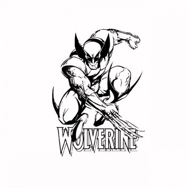 Marvel wolverine clipart image black and white library X-men Wolverine Clipart - Clipart Kid image black and white library