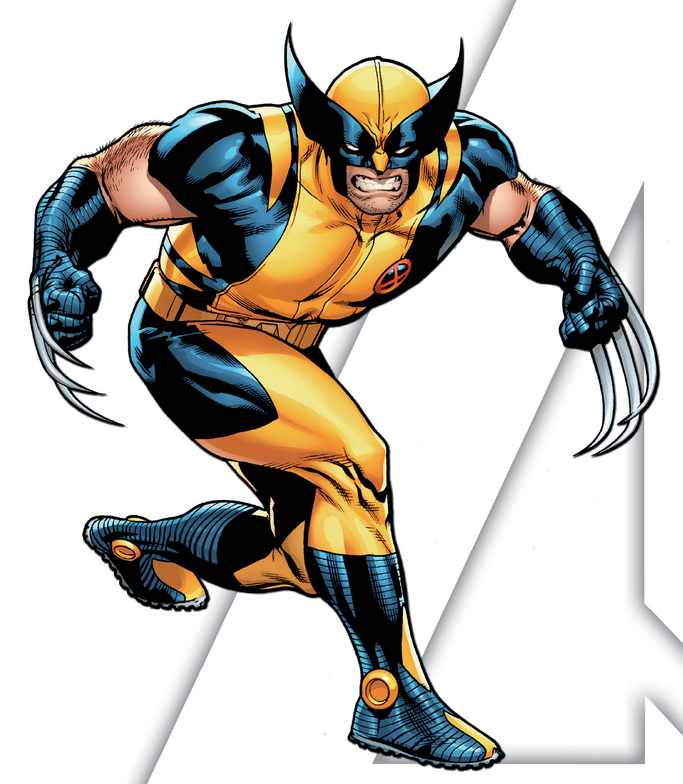 Marvel wolverine clipart graphic freeuse stock Marvel Wolverine Clipart - Clipart Kid graphic freeuse stock