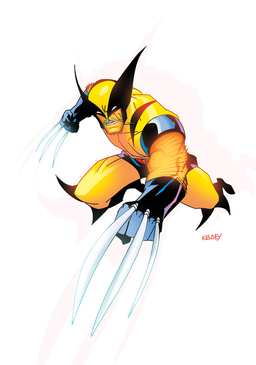 Marvel wolverine clipart clipart library Free wolverine clip art - ClipartFest clipart library