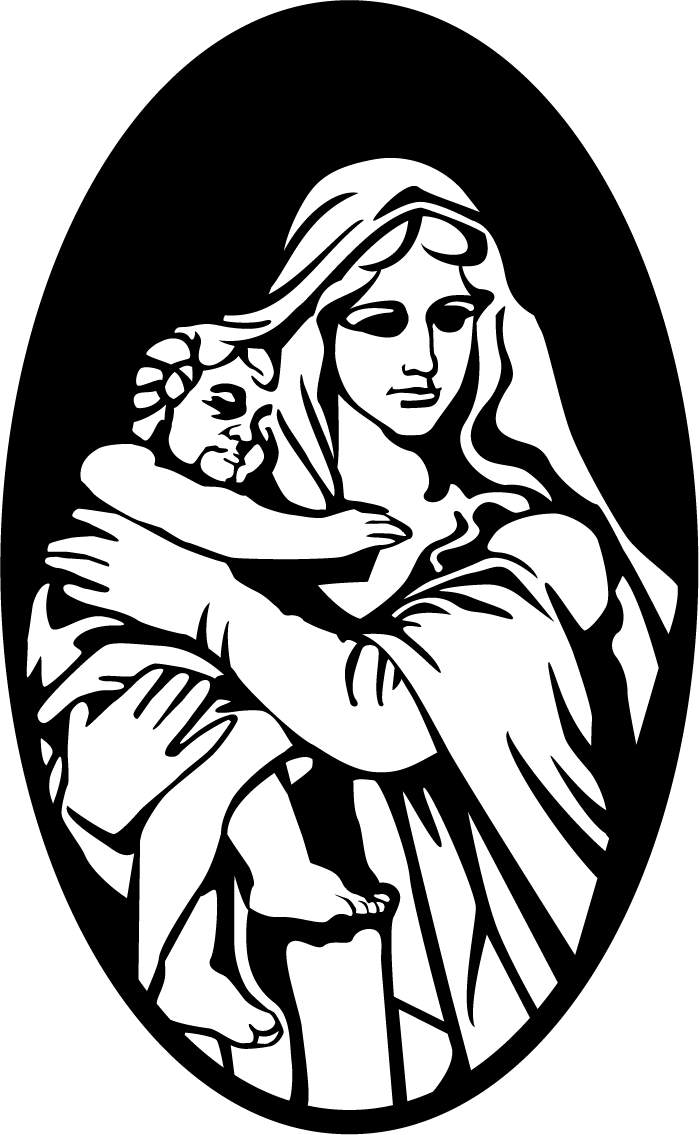 Mary and baby jesus clipart image transparent stock Mary Bethlehem Child Jesus Nativity scene - Madonna Maria 699*1135 ... image transparent stock