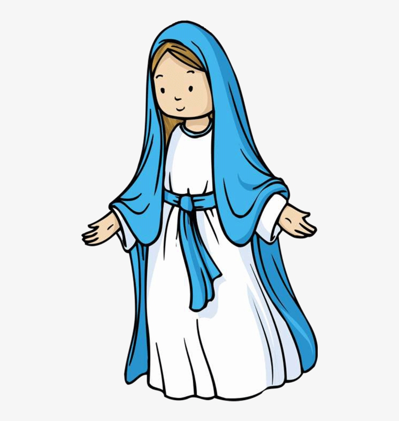 Mary and gabriel clipart graphic library stock Mary And Gabriel Clipart - Mary Mother Of Jesus Clip Art Transparent ... graphic library stock