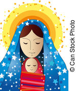 Mary and jesus clipart png transparent Mary Stock Illustration Images. 4,167 Mary illustrations available ... png transparent