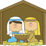 Mary and jesus clipart image black and white christmas clip art mary and joseph mary and ba jesus clipart ... image black and white