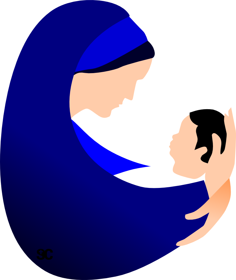 Mary and jesus playing clipart jpg royalty free download Mary And Jesus Clipart at GetDrawings.com | Free for personal use ... jpg royalty free download