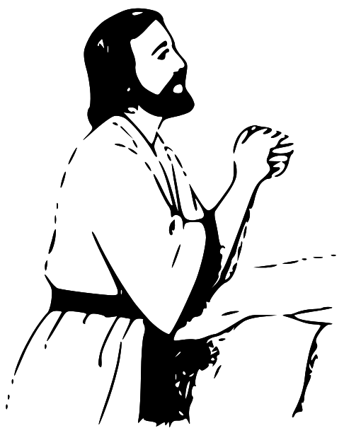 Mary and jesus praying clipart clip art free library Mary and jesus praying clipart - ClipartFest clip art free library