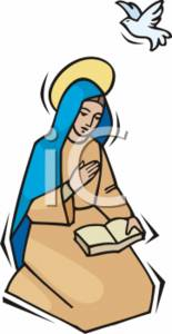 Mary and jesus praying clipart picture royalty free download Mary and jesus praying clipart - ClipartFest picture royalty free download