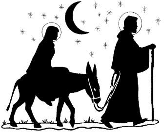 Mary and joseph riding on donkey clipart free vector library Free Mary Joseph Cliparts, Download Free Clip Art, Free Clip Art on ... vector library