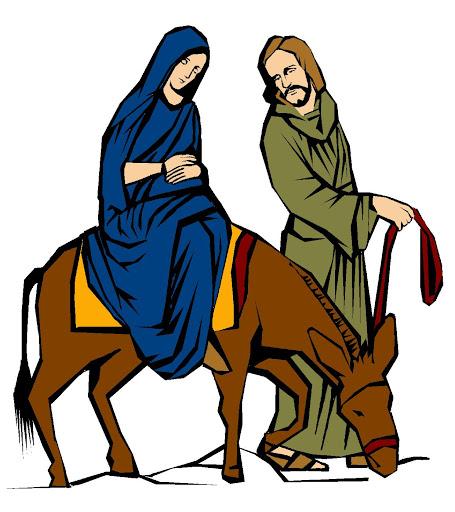 Mary and joseph riding on donkey clipart free image download Free Mary Joseph Cliparts, Download Free Clip Art, Free Clip Art on ... image download