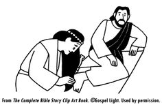Mary anointing jesus feet clipart black & white jpg stock 128 Best Lent C5 Mary Anoints Jesus images in 2019 | Jesus crafts ... jpg stock