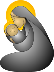 Mary baby jesus clipart transparent library Mother mary and jesus clipart - ClipartFox transparent library
