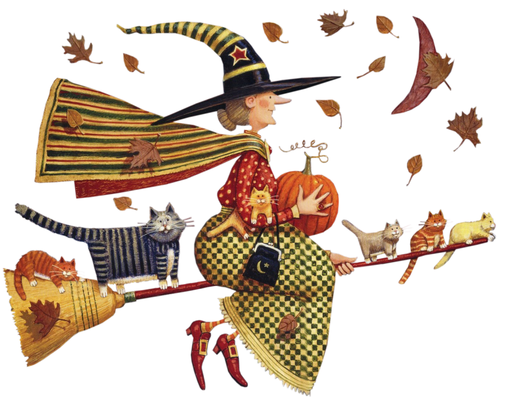Mary engelbreit halloween clipart jpg transparent library Mis Laminas para Decoupage | Witches, Hocus pocus and Halloween ... jpg transparent library
