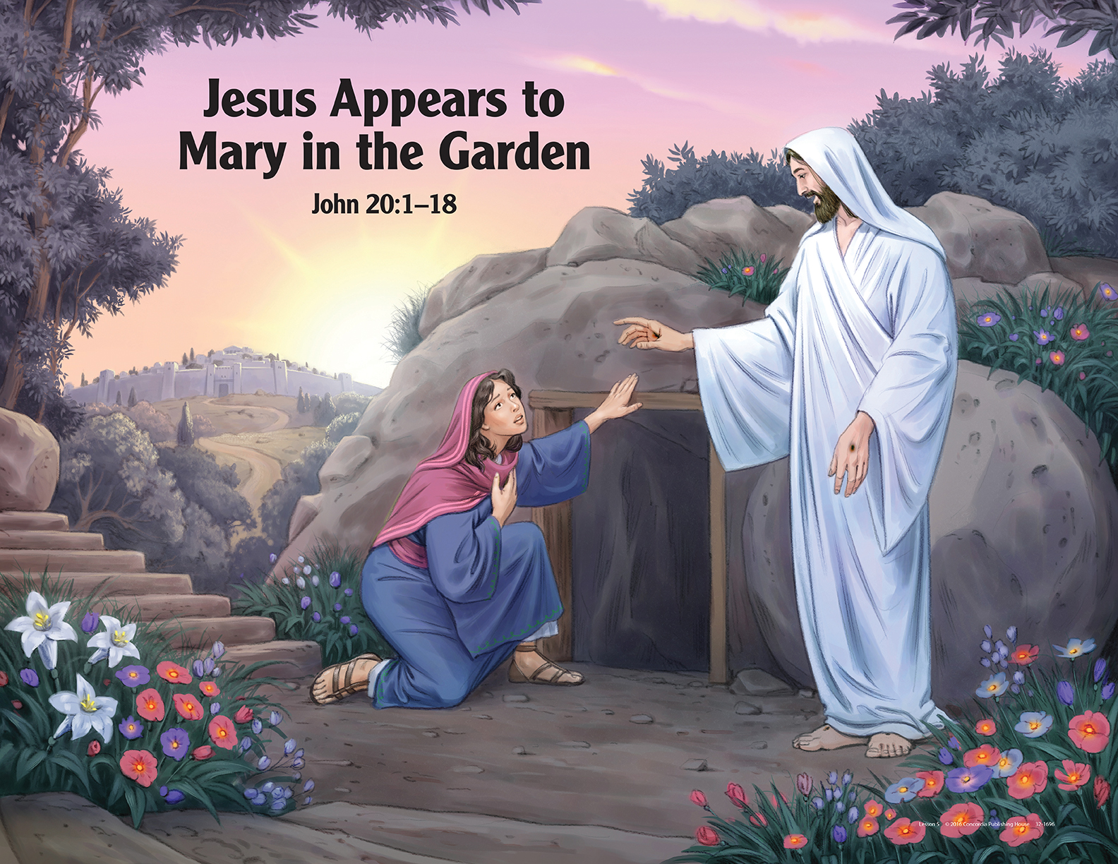 Mary garden jesus clipart picture royalty free library Logos Bookstore of Hawaii - msitecphvbsdownloads ... picture royalty free library