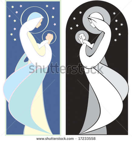 Mary holding baby jesus clipart transparent stock Mary Holding Baby Jesus Stock Images, Royalty-Free Images ... transparent stock