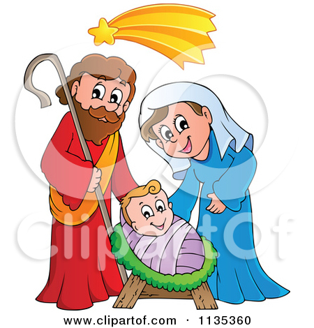 Mary jesus joseph clipart graphic royalty free library Jesus mary and joseph clip art - ClipartFest graphic royalty free library