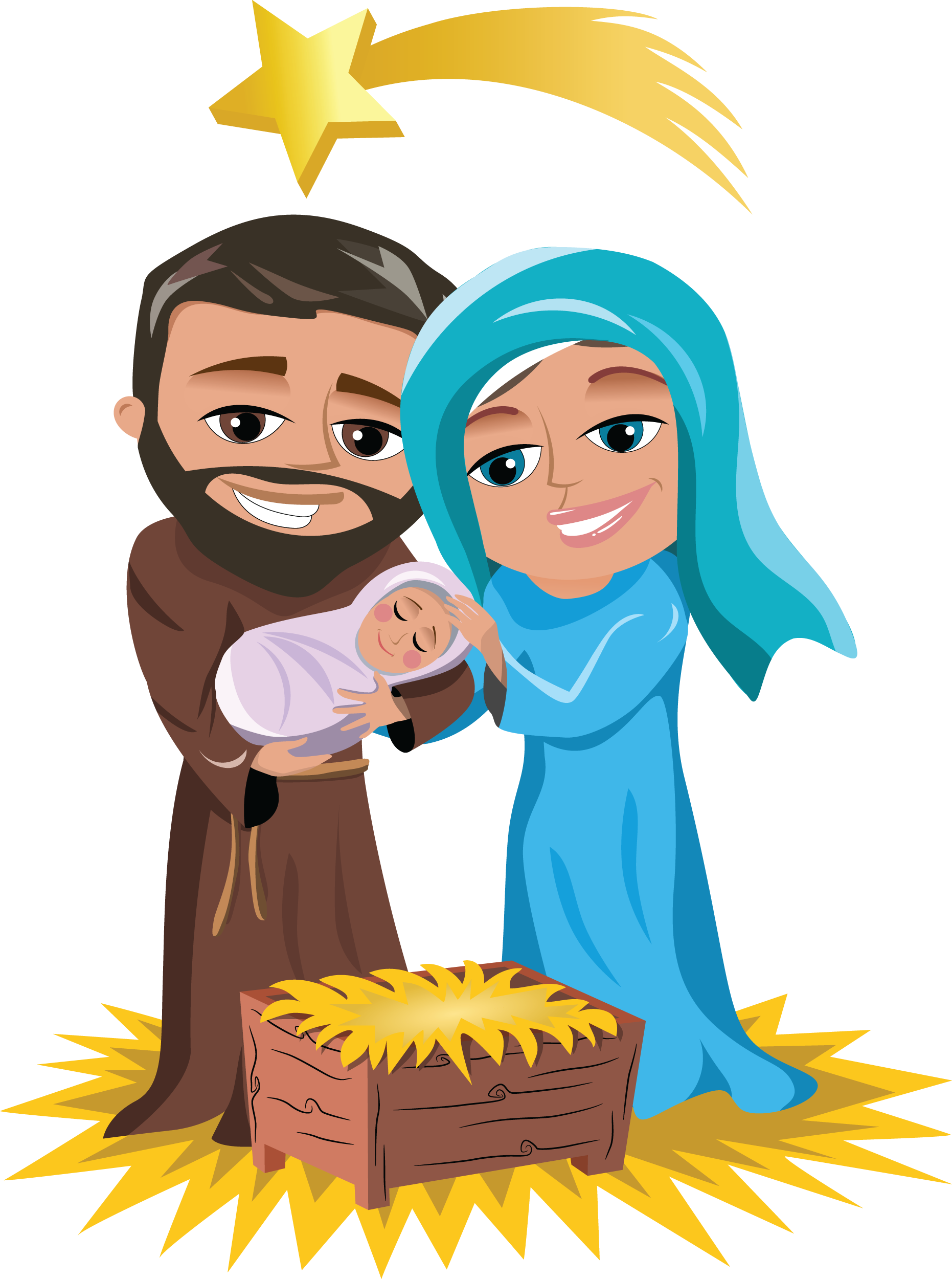 Mary joseph and baby jesus clipart vector royalty free download Mary joseph and baby jesus clip art clipart images gallery for free ... vector royalty free download