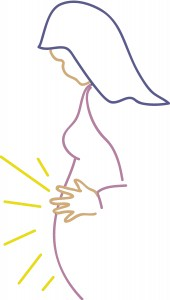 Mary pregnant with jesus clipart image Mary pregnant with jesus clipart - ClipartFest image