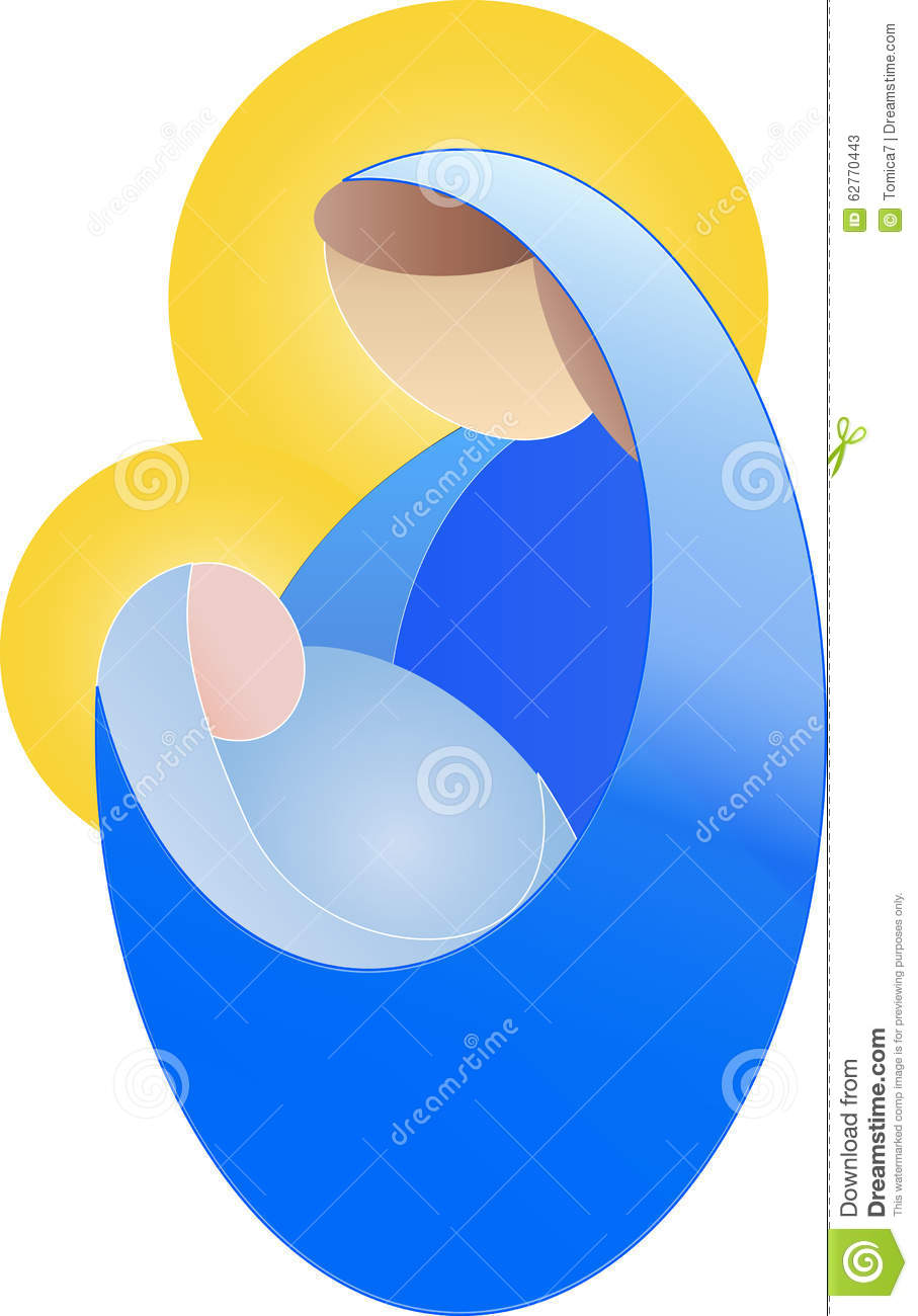 Mary pregnant with jesus clipart jpg transparent library Simple Drawing Of A Pregnant Woman, Virgin Mary Stock Photo ... jpg transparent library