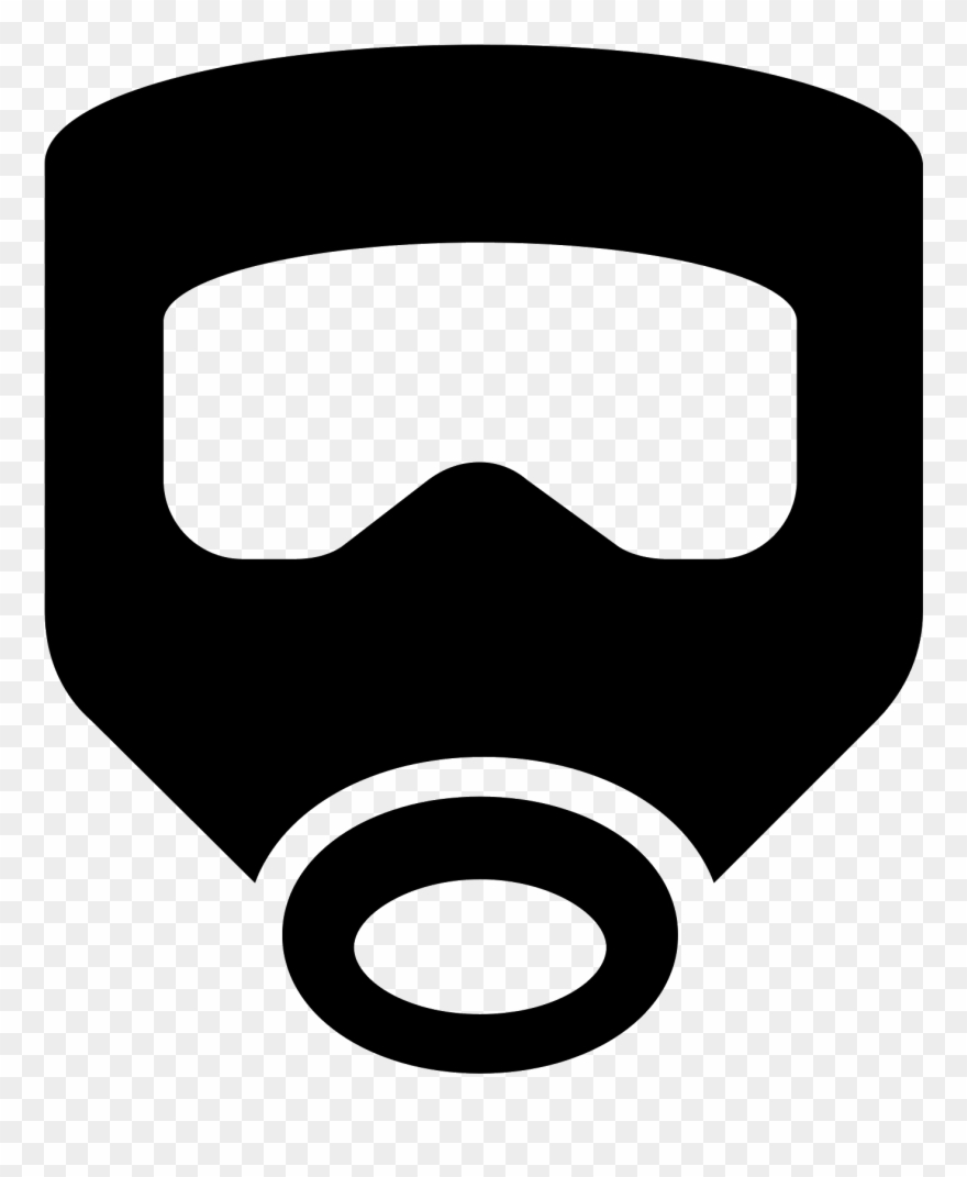 Mascara de gas clipart clipart free library Escape Mask Icon - Mascara De Gas Emoji Png Clipart (#272984 ... clipart free library