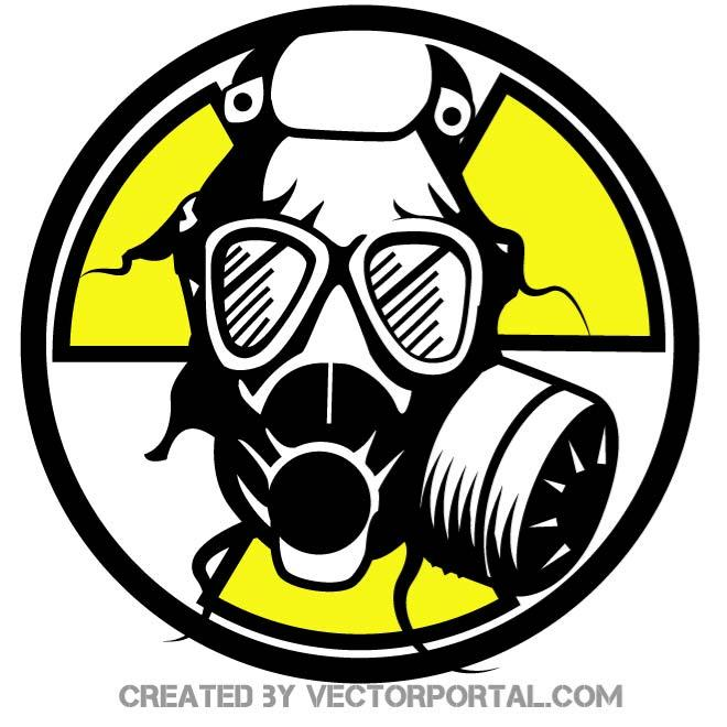 Mascara de gas clipart picture free download GAS MASK VECTOR CLIP ART - Free vector image in AI and EPS format. picture free download