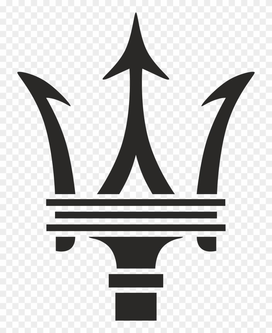 Maserati logo clipart svg black and white stock Maserati Logo - Maserati Logo Png Clipart (#1450917 ... svg black and white stock