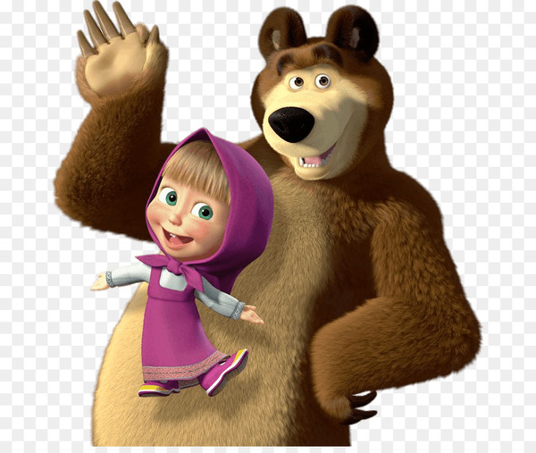 Masha and the bear clipart picture freeuse Masha and the Bear Clip art - bear - Nohat picture freeuse