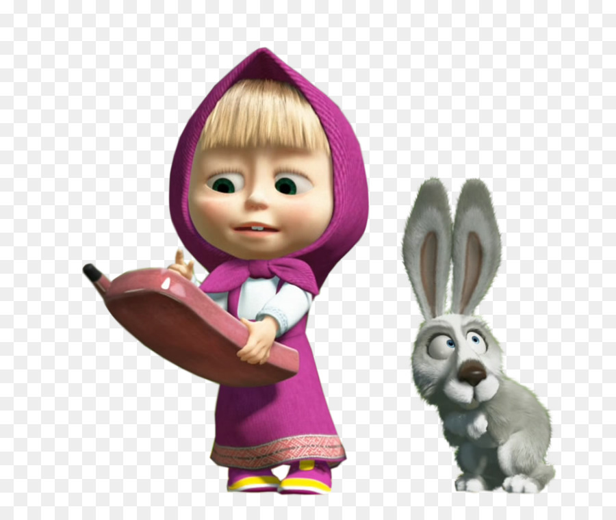 Masha and the bear clipart banner transparent Masha And The Bear clipart - Bear, Doll, Rabbit, transparent clip art banner transparent