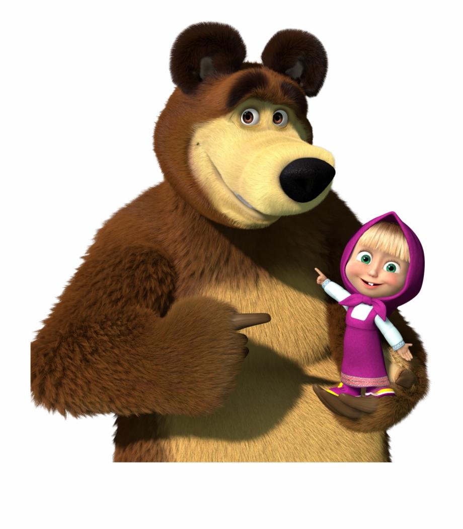 Masha and the bear clipart vector royalty free download Masha And Bear Clipart - masha and the bear png, Free PNG Images ... vector royalty free download