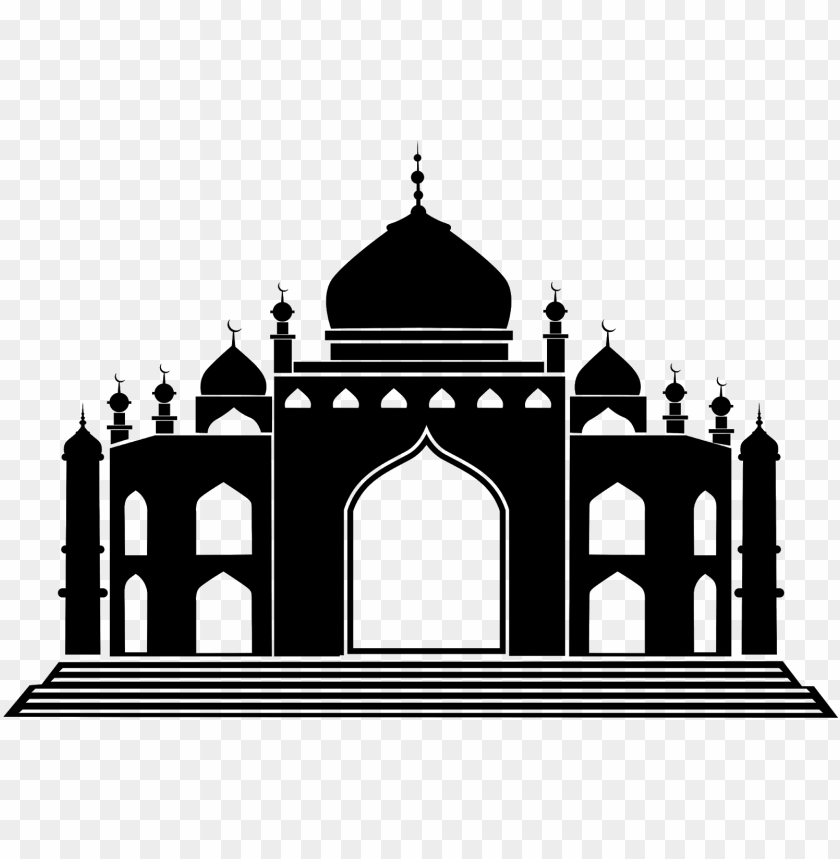 Masjid clipart vector banner free download download vector siluet masjid cdr & png hd - islamic architecture ... banner free download