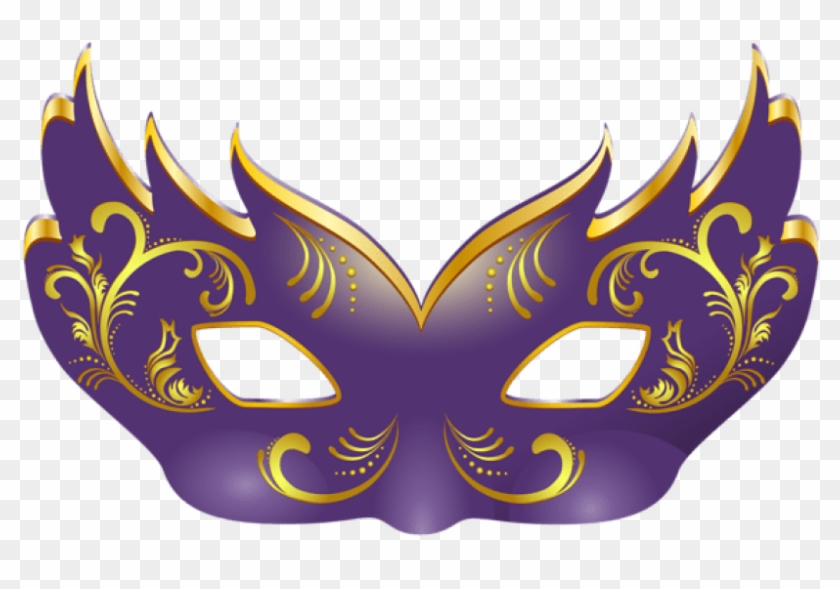 Mask clipart image graphic black and white library Free Png Download Purple Mask Clipart Png Photo Png - Transparent ... graphic black and white library