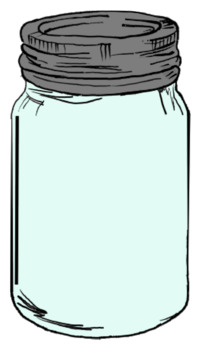 Masonjar clipart picture library Mason Jar Clip Art picture library