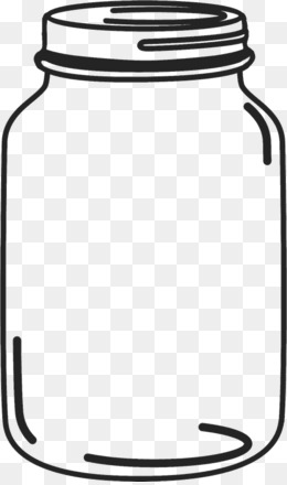 Mason jar clipart free graphic black and white library Mason Jar PNG & Mason Jar Transparent Cl #76431 - PNG Images ... graphic black and white library