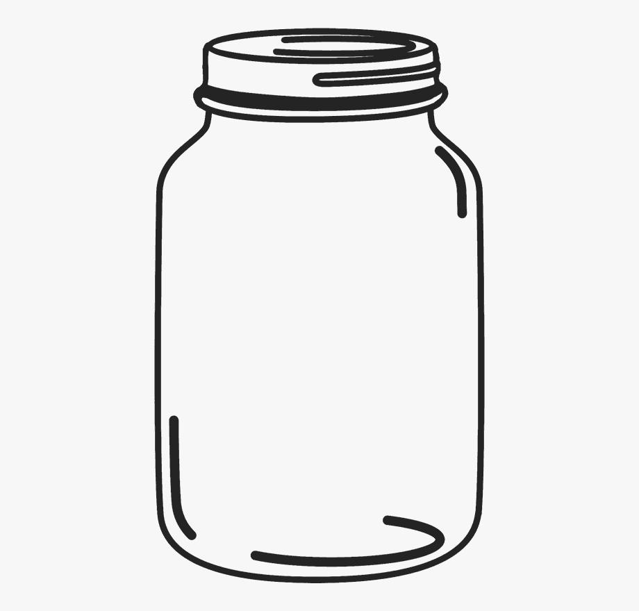 Mason jar clipart free image library download Mason Jar Rubber Stamp - Mason Jar Clipart Png #1045077 - Free ... image library download