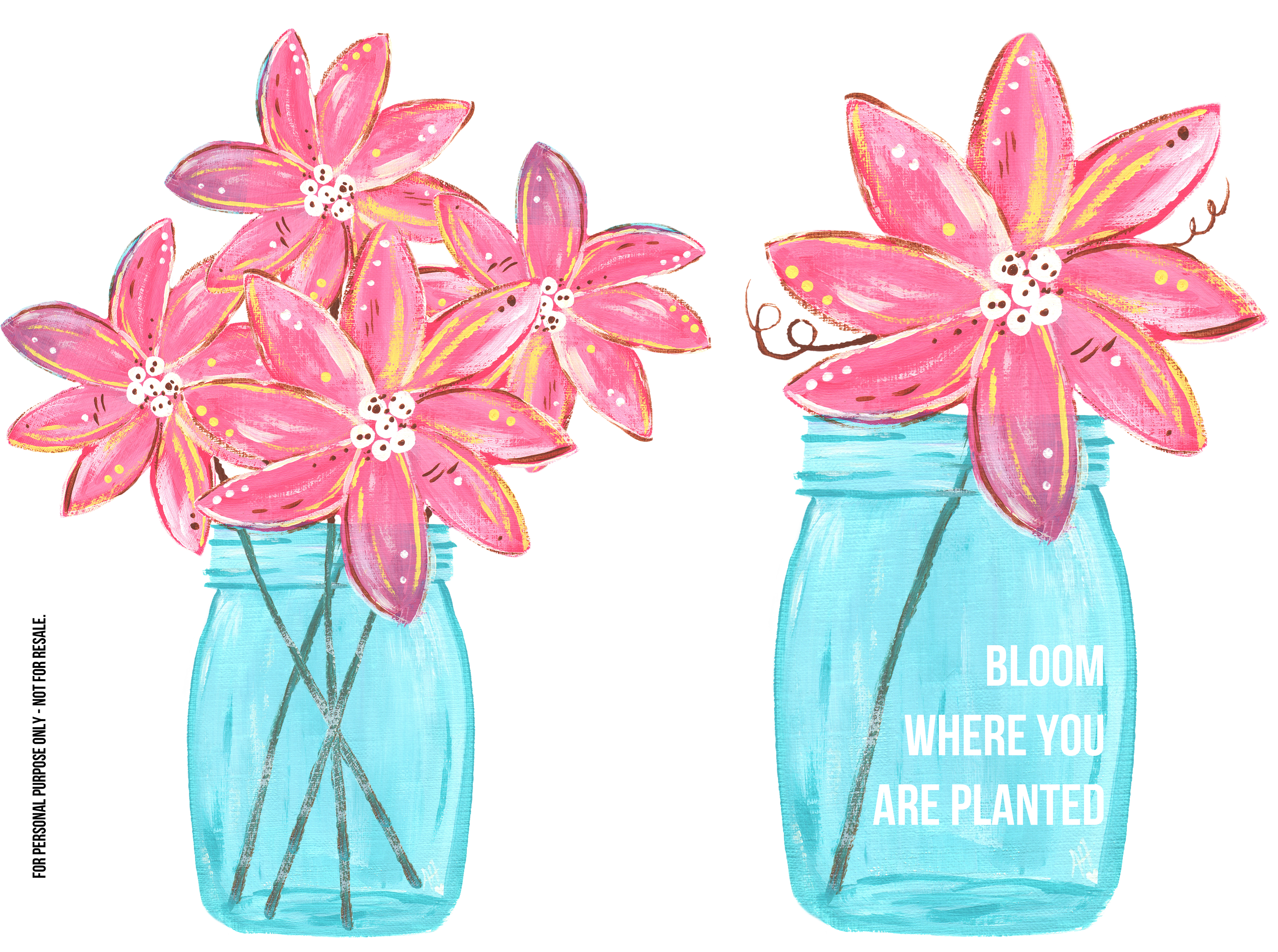 Mason jar flower clipart picture free library 28+ Collection of Blue Mason Jar Drawing | High quality, free ... picture free library