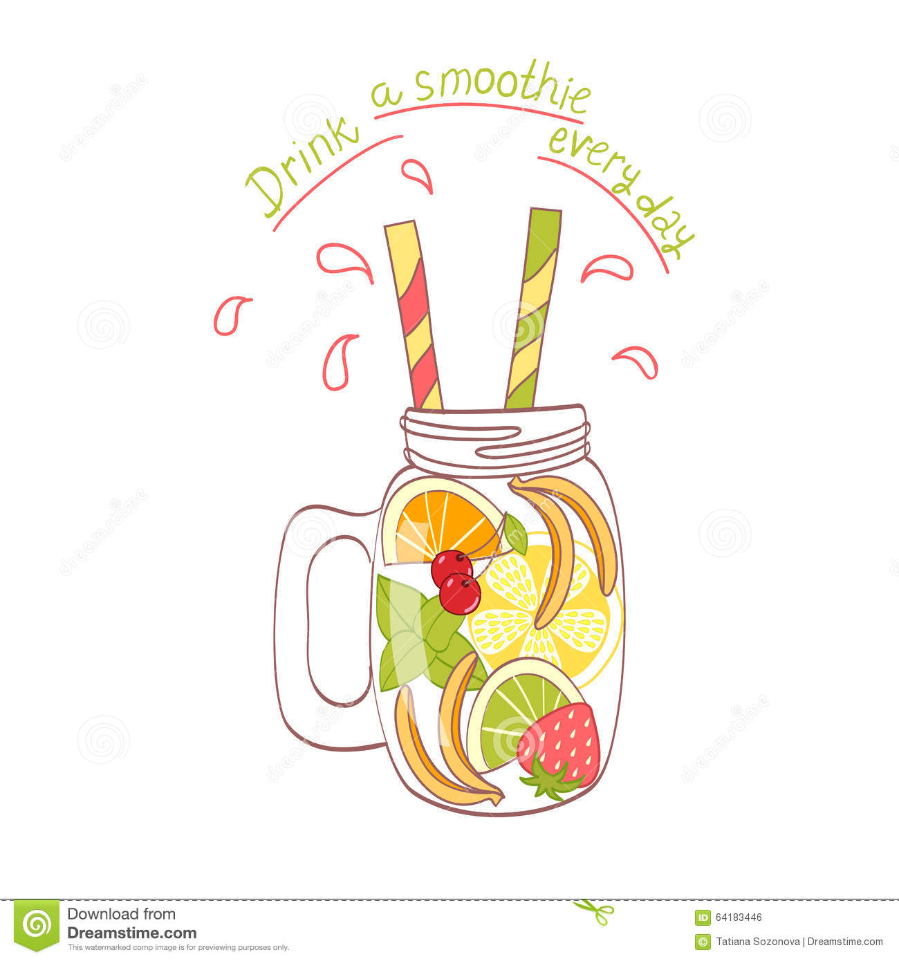 Mason jar with straw clipart picture freeuse library Mason Jar With Straw Clipart Collection #31197 - Clipartimage.com picture freeuse library