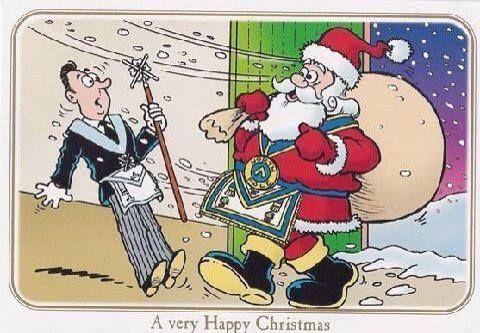 Masonic christmas clipart free stock Merry Christmas. | The Brotherhood | Freemason, Freemasonry ... free stock