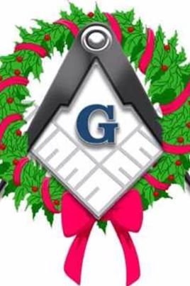 Masonic christmas clipart picture freeuse stock Merry Christmas Brothers | Master Mason | Masonic art, Freemasonry ... picture freeuse stock