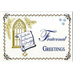 Masonic christmas clipart png freeuse stock Masonic Greeting Cards - Letchworths Shop: Masonic Accessories ... png freeuse stock