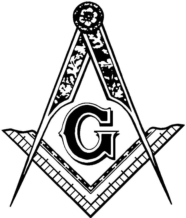 Masonic clip art site png transparent library Masonic Clip Art and Freemason Symbols - Square and Compasses - Page 2 png transparent library