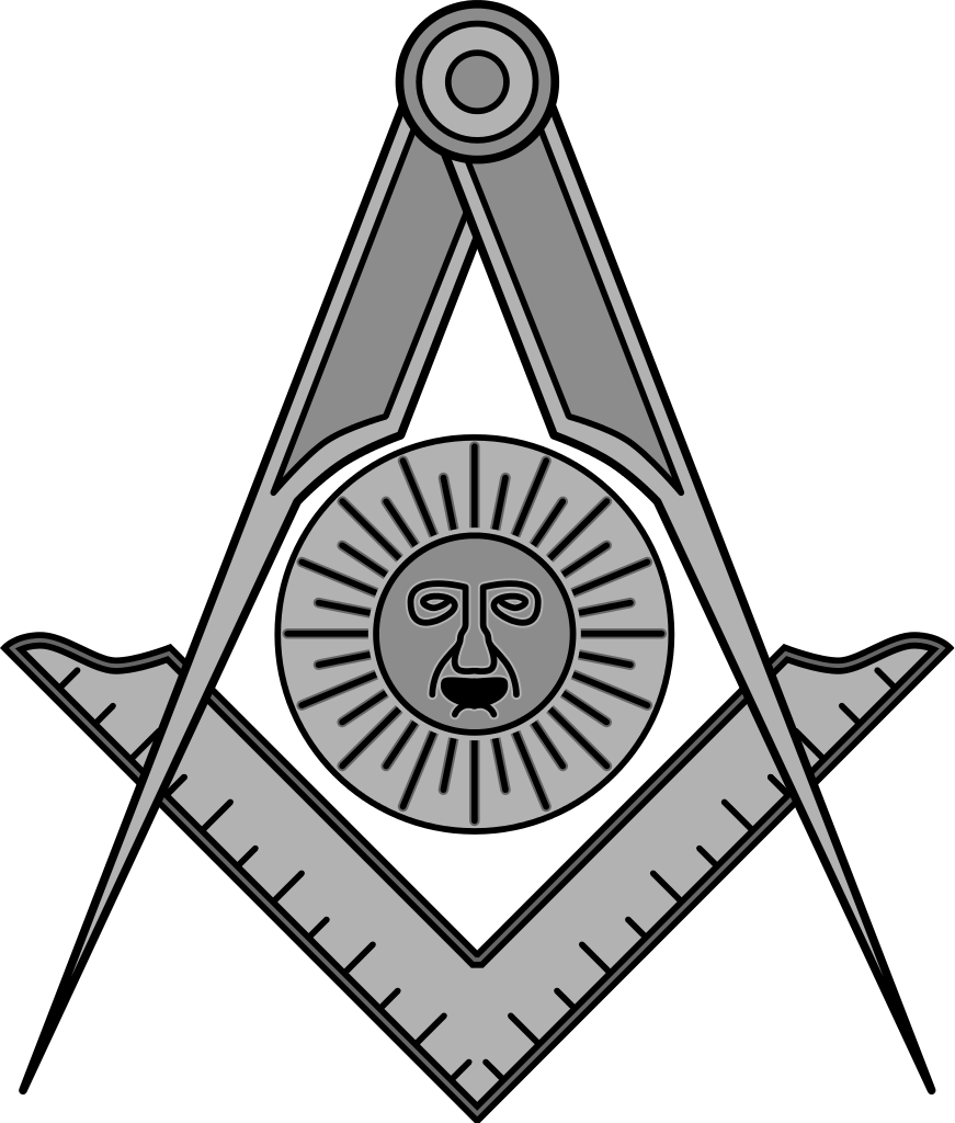 Masonic sun clipart jpg freeuse stock File:Masonic SeniorDeacon.svg - Wikipedia jpg freeuse stock