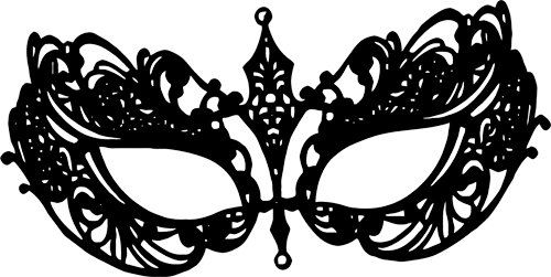 Masquerade mask clipart png white image transparent stock Pin by Nicolette Adelie on Party masks | Clip art, Art, Printable art image transparent stock