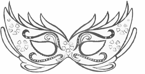 Masquerade mask clipart png white graphic library library Black And White Masquerade Masks Clip Artmask Clip Art Vector Clip ... graphic library library