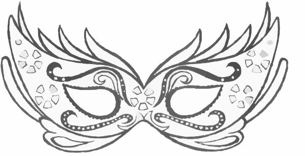 Mardi gras mask black and white clipart black and white Black And White Masquerade Masks Clip Artmask Clip Art Vector Clip ... black and white